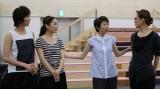 WEB番組『じゅりばな』#1(左から)湖月わたる、星奈優里、樹里咲穂、姿月あさと(C)テレビ朝日