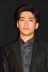 映画『表と裏 第2章』初日舞台あいさつに登壇した大東駿介 (C)ORICON NewS inc.