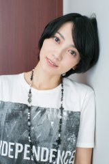 ORICON STYLEのインタビューに応じた遠藤久美子(写真・西田周平)