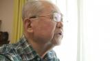 31日、日本テレビで放送される『全力老人』(前0:59 ※関東ローカル)に80歳の父親と41歳の娘によるお笑いコンビ・『めいどのみやげ』が登場 (C)日本テレビ