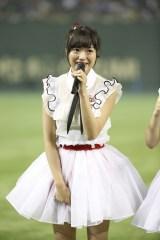 『第1回AKB48グループ対抗大運動会』でお披露目されたNGT48・北原里英 (C)AKS