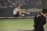 走り高跳びで唯一120センチを跳んだチーム8の中野郁海 (C)AKS