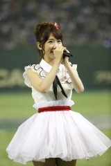 『第1回AKB48グループ対抗大運動会』でお披露目されたNGT48・柏木由紀 (C)AKS