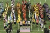 国内4グループ、13チームの総勢274人が出場した『第1回AKB48グループ対抗大運動会』(C)AKS
