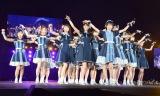 全国ツアー最終公演を行った乃木坂46。予定になかったWアンコールに感涙した (C)ORICON NewS inc.