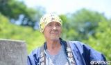 花火師・十和田政吉を演じる火野正平。フジテレビ系『あの日見た花の名前を僕達はまだ知らない。』9月21日放送