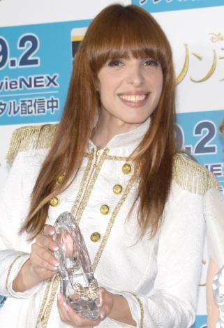 『シンデレラ MovieNEX』の発売記念イベントに出席したIVAN (C)ORICON NewS inc.