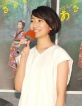 NHK連続テレビ小説『あさが来た』第1週試写会に出席した波瑠 (C)ORICON NewS inc.