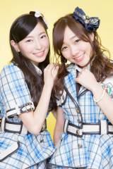 ORICON STYLEの取材に応じたSKE48の大矢真那と須田亜香里(写真・草刈雅之)