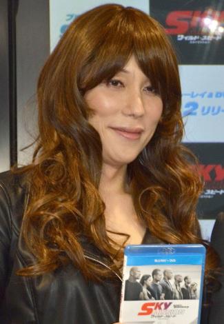 これまでの手術代は「高級車1台分」と明かしたKABA.ちゃん=映画『ワイルドスピード SKY MISSION』ブルーレイ&DVDリリース記念イベント (C)ORICON NewS inc.