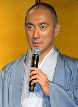 長男・勸玄くんの初お目見得を報告した市川海老蔵 (C)ORICON NewS inc.