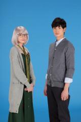 ドラマ『掟上今日子の備忘録』に出演する(左から)新垣結衣、岡田将生 (C)日本テレビ