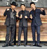 (左から)USA、松本利夫、MAKIDAI (C)ORICON NewS inc.