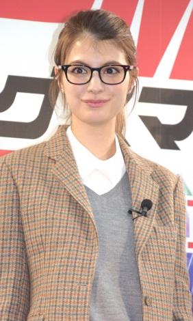 サムネイル イベントで男装姿を披露したマギー (C)ORICON NewS inc.