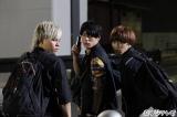 木曜劇場『探偵の探偵』にゲスト出演する超特急(左から)カイ、ユースケ、タクヤ