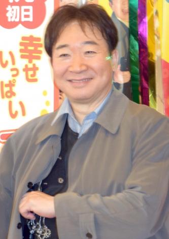 舞台『三匹のおっさん』初日公演後の取材に出席した中村梅雀 (C)ORICON NewS inc.