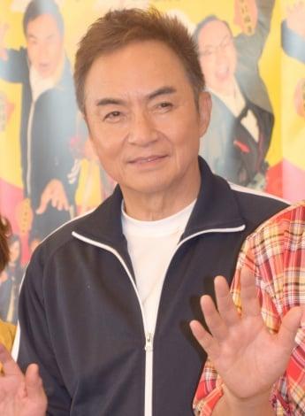 舞台『三匹のおっさん』初日公演後の取材に出席した西郷輝彦 (C)ORICON NewS inc.