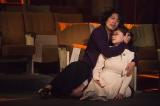 舞台『タンゴ・冬の終わりに』の公開舞台げいこの模様 撮影:引地信彦