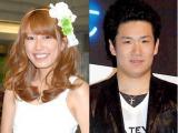 第1子妊娠を発表した里田まい(左)と田中将大選手 (C)ORICON NewS inc.