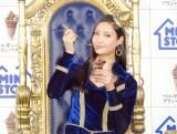 ミニストップ『ベルギーチョコプリンパフェ』新CM発表会に出席した菜々緒 (C)ORICON NewS inc.