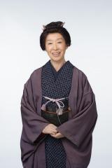 大河ドラマ『花燃ゆ』に出演する三田佳子(C)NHK