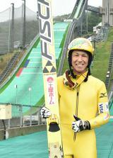 3年後の2018年、韓国・平昌(ピョンチャン)で開催される冬季五輪への意気込み語るスキージャンプのレジェンド、葛西紀明選手(C)テレビ朝日