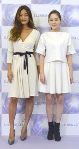 ヘアイベント『TREND VISION SUPER LIVE』に出演した(左から)ジェラ・マリアーノ、筧美和子 (C)ORICON NewS inc.