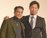 (左から)ELLY、劇団EXILEの八木将康 (C)ORICON NewS inc.