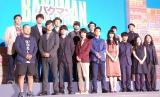 映画『バクマン。』の完成披露舞台あいさつの模様 (C)ORICON NewS inc.