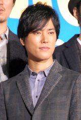 映画『バクマン。』の完成披露舞台あいさつに出席した桐谷健太 (C)ORICON NewS inc.