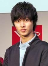 『ダイハツ新型軽乗用車CM発表会』に出席した山崎賢人 (C)ORICON NewS inc.