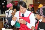 『桃太郎トマトの学校』特別授業の先生を務めた葛西紀明選手