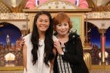 関西テレビ『快傑えみちゃんねる』でのろけ話を語った澤穂希選手とMCの上沼恵美子