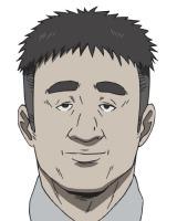 長谷部聡(CV:伊丸岡篤)真賀田研究所の警備員。趣味はマリンバの演奏(C)森博嗣・講談社/「すべてがFになる」製作委員会