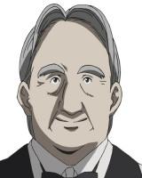 諏訪野(CV:長克己)西之園家に長年仕える執事。萌絵の身の回りの世話をしている(C)森博嗣・講談社/「すべてがFになる」製作委員会