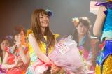 NMB48からの卒業を発表した小谷里歩=NMB48劇場で行われたNMB48チームN『ここにだって天使はいる』公演(C)NMB48