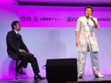 新曲「桜のように」の発売記者発表会を行った竹内力 (C)ORICON NewS inc.