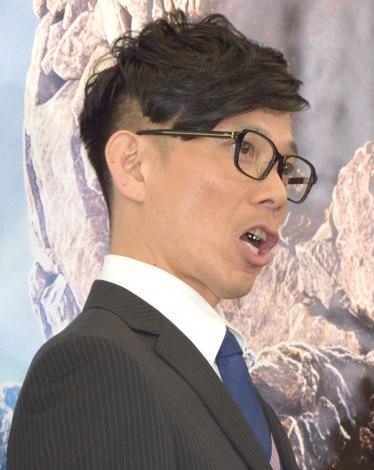 映画『ファンタスティック・フォー』の公開アフレコ・オーディションに出席したバッファロー吾郎の竹若元博 (C)ORICON NewS inc.