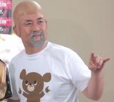 『F-1タッグチャンピオンシップ初代王者決定戦』カード決定会見に出席した神奈月 (C)ORICON NewS inc.