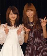 2年半ぶり芸能界に復帰する(左から)小木曽汐莉、 矢神久美(C)ORICON NewS inc.