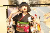 ネイルファッションショー「ANCIENT JAPANESE COLIRS」に出演した南明奈