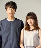 連続ドラマ『南くんの恋人〜my little lover』への手応えを明かした(左から)中川大志、山本舞香 (C)ORICON NewS inc.