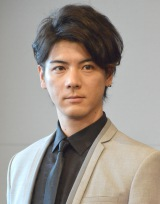 舞台『バイオハザード ザ・ステージ』制作発表会見に出席した中村誠治郎 (C)ORICON NewS inc.