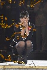 『第6回じゃんけん大会』で女王に輝いたAKB48チームKの藤田奈那 (C)ORICON NewS inc.