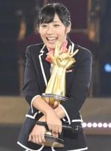 『第6回じゃんけん大会』で初優勝したAKB48チームKの藤田奈那 (C)ORICON NewS inc.
