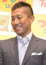 東ハト『つながリング』新商品発表会に出席した前園真聖 (C)ORICON NewS inc.
