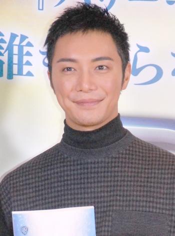 映画『PAN 〜ネバーランド、夢のはじまり〜』のアフレコ発表イベントに出席した成宮寛貴 (C)ORICON NewS inc.