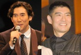 再婚を発表した高嶋政伸(左)を祝福した兄・高嶋政宏(右) (C)ORICON NewS inc.