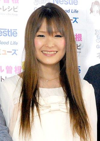 ネスレ日本のインターネット料理番組『ギャル曽根レシピ 第3弾』の公開収録イベントに出席したギャル曽根 (C)ORICON DD inc.