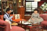 『金曜プレミアム さんまのまんま30周年秋SP』に出演する黒柳徹子(右) (C)関西テレビ